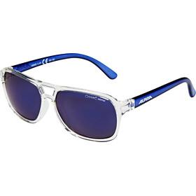 Alpina Yalla Cykelglasögon Barn blå/transparent